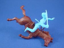 Civil War Toy Soldiers Marx Playset 54mm Union Falling Rider with Horse Recast