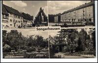 Sangerhausen Sachsen-Anhalt DDR Mehrbildkarte 1959 Markt West-Siedlung Rosarium