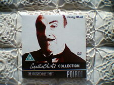 DAILY MAIL PROMO DVD - AGATHA CHRISTIE`S POIROT- THE ADVENTURE OF JOHNNY WAVERLY