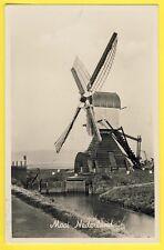 cpsm PAYS BAS NETHERLANDS MOOI NEDERLAND Cachet AMSTERDAM Moulin à Vent