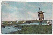 Zaanstreek Netherlands Vintage Postcard 262a
