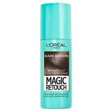 Magic Retouch Dark Brown Root Touch Up Conceal Grey Hair Spray Salon Colour