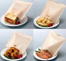 5/10pcs Toastie Pocket Bag Non-Stick Reusable Toaster Sandwich Bags Pouch