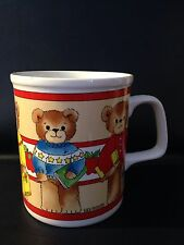 Vintage Lucy & Me Bear Enesco Lucy Rigg 1982 Coffee Mug Cup # 31