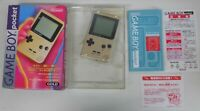 Z4323 Nintendo Gameboy pocket console Gold Japan GB w/box case x