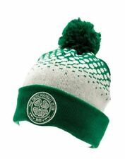 Celtic Winter Christmas Hat Football Club Green Fade Bobble Beanie Teenager