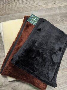 Noseband Cover Fleece Noseband Sleeve For Horse Protect From Bridle Rubbing
