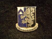 Vietnam War Era US Army 48th Infantry Regiment DI DUI Crest 'Ira Green Inc' VG+