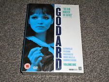 JEAN LUC GODARD : VOLUME ONE 1 - RARE NEW & SEALED DVD COLLECTION (FREE UK P&P)