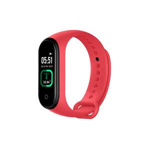 Smart Band Fitness Tracker Heart Rate Blood Pressure Sport Bluetooth Wristbands