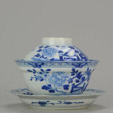 17/18th C Edo period Japanese Porcelain Lidded Bowl High Quality