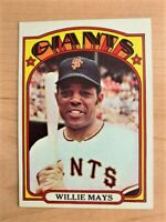 1972 Willie Mays Topps Baseball Card #49 (Original)
