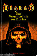 "Richard A. Knaak - "" DIABLO 1 - Das Vermächtnis des BLUTES "" (2003) - tb"