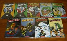 9 Adventures Into The Unknown, Forbidden Worlds, Magicman, Nemesis ACG Archives
