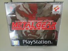 Metal Gear Solid (Sony Playstation) PAL OVP/2CD's/Anleitung Ps1 Psx