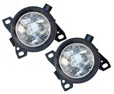 QSC Fog Lights Lamps Pair LH RH w/ Bulbs for Kenworth T660 Peterbilt 579 587