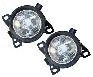 QSC Fog Lights Lamps Pair LH RH w/ Bulbs for Kenworth T660 Peterbilt 579 587