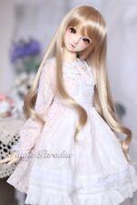 1/3 8-9 Dal BJD SD MSD Wig MDD DOD LUTS DOC Dollfie Doll Toy Long Brown wigs