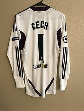 Chelsea England Cech Shirt Md Uefa Champions League Jersey Adidas