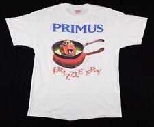 Vtg 1990 Primus Frizzle Fry Concert Tour T-Shirt XL caroline label band music