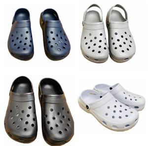 New Mens Boys Summer Holiday Beach Slippers Clogs Garden Sandals Shoes
