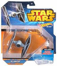 Collectible Hot Wheels Star Wars Starship Blue TIE Fighter Vehicle Collection