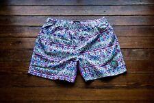 "5.5"" Aztec Swim Shorts - Quick Dry -  No Interior Liner - Size: Large"