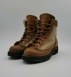 Vintage Danner Mountain Light Gore-tex 3042 Brown Boots Sz 7.5 D Made in USA