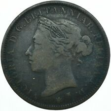 More details for 1877 queen victoria states of jersey twelfth of a shilling coin  #wt28026