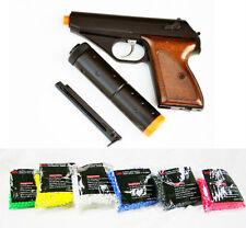 HFC James Bond Airsoft Gas Pistol Non Blowback Semi-Auto w/ EXTRA CLIP & 1000 bb