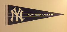 """New York Yankees FATHEAD Official Team Pennant 32"""" x 12"""" MLB Wall Graphics"""