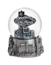 Las Vegas Nevada Silver Snowdome Snow Globe-New
