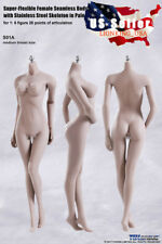 TBLeague S01A 1/6 Female Seamless Body M Bust PALE Steel Skeleton PHICEN ❶USA❶