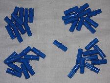 LEGO Technic - 40x Pin+Kreuz 1x2 43093 blau - Achse Verbinder Liftarm Lochstein