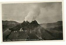 Napoli Vesuvio Eruzione del 1933 - 1935 - VIAGGIATA