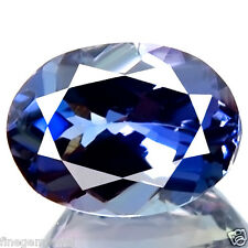 1.04ct IF~FLAWLESS SPARKLING NATURAL D-BLOCK BEST BLUE TANZANITE EARTH MINED GEM