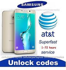 AT&T Factory Unlock Code Samsung Galaxy S6 S5 S4 S3 S2 Active Mini Edge plus +