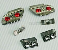 RC 1/10 NISSAN 180SX FRONT+ REAR LIGHT BUCKETS For NISSAN 180SX Body