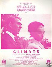 ▬►1962 Synopsis CLIMATS Marina Vlady_Emmanuelle Riva_J.P Mariele_A.Stewart