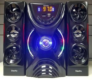 OSOTTO HF42 2.1 CHANNEL 80W BLUETOOTH MULTIMEDIA STEREO SYSTEM - BRAND NEW