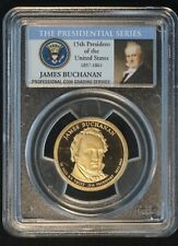 2010-S US $1 Presidential Dollar Coin PCGS 69 Proof UNC Deep Cameo B6271