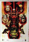 Tony Harris SIGNED Artist Proof AP Art Print Deadpool Secret Wars Wolverine Hulk
