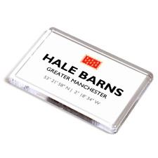 FRIDGE MAGNET - Hale Barns, Greater Manchester - Lat/Long SJ7985
