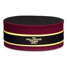 New! Disney Parks Hollywood Tower of Terror Hotel HTH Bellhop Hat Cap Adult DCA