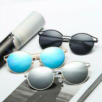 Fashion Women Men's Sunglasses Round Metal Frame Eyewear Resin Sun Glass UV400