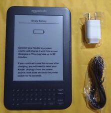 "Amazon Kindle Keyboard 3G Free +Wi-Fi 6"" E Ink Display 4GB eBook Reader 3rd Gen✔"