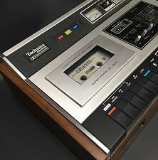 ~ VINTAGE 1976 TECHNICS STEREO CASSETTE [TAPE] DECK 263AU PLAYER RECORDER DOLBY