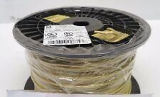 New 500' Ft Roll/Spool Yellow 14 AWG Stranded Copper 600V THHN/MTW/MTW/Tool Wire