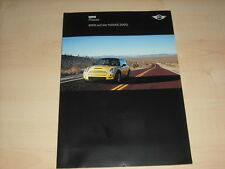 55798) BMW Mini One + Cooper + Cooper S - Naias - Pressemappe 01/2003
