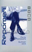 CALZINO CALZA GAMBALETTO UOMO RIPOSANTE COMPRESSIONE GRADUATA mmHg 16/20 REPOMEN